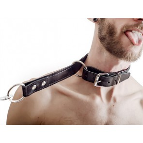 FETCH Leather Choking Collar